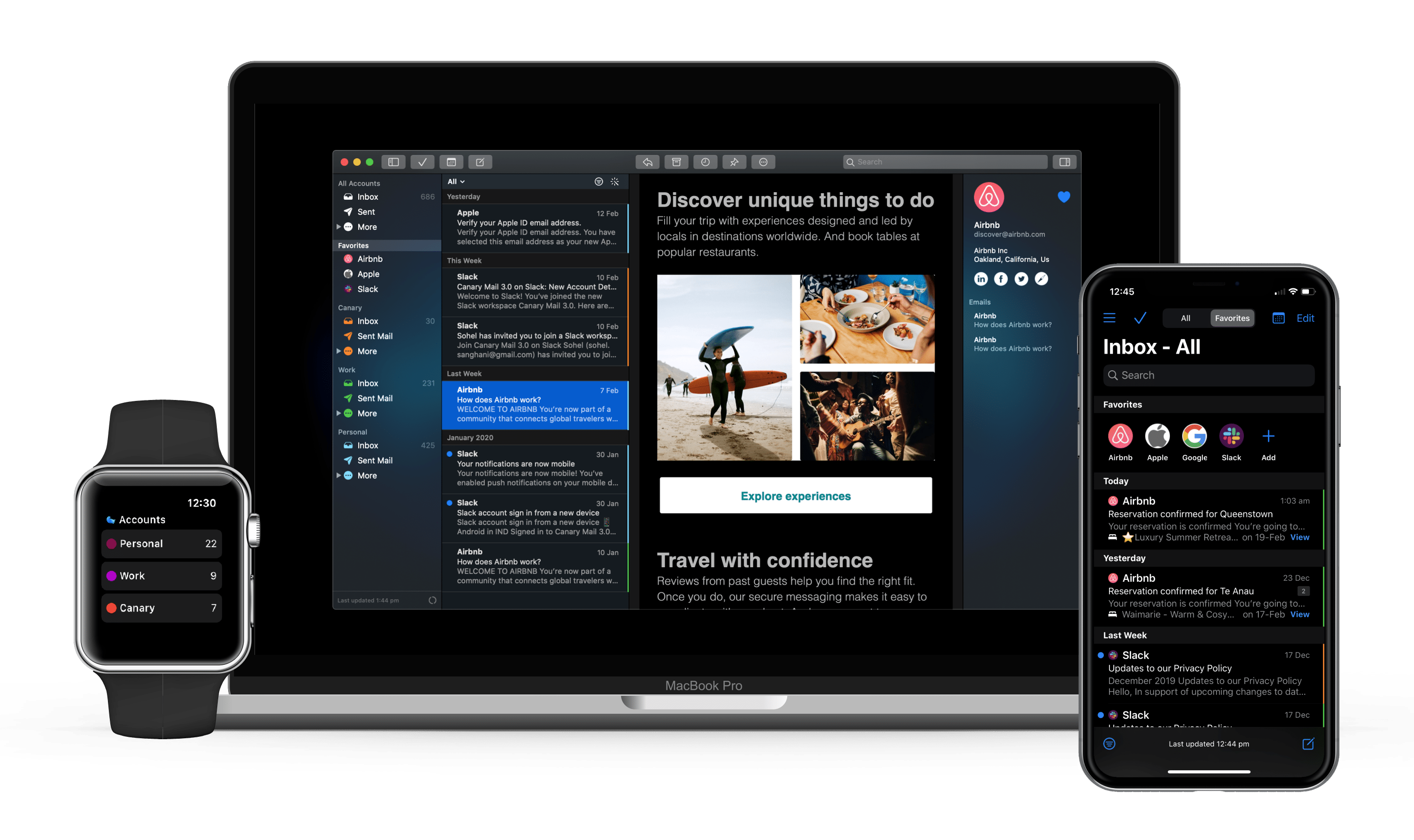 email client for mac iphone ipad watch
